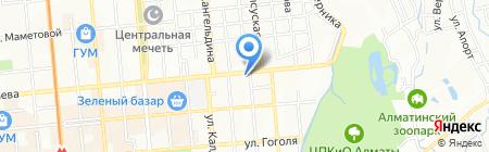 Домашний Бисквит на карте Алматы