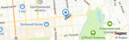 Азияпром на карте Алматы