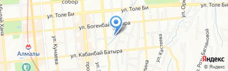 Фармактив на карте Алматы
