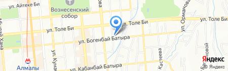 INTEGRA Engineering Group на карте Алматы
