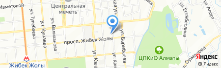 BAZ ESTATE на карте Алматы