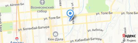 Премьера на карте Алматы