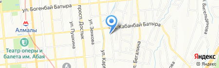 Atameken Holding на карте Алматы