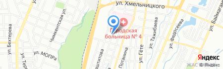 Ясли-сад №121 на карте Алматы