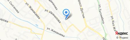 Улар ТОО Корпорация Алмалы на карте Алматы
