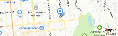 K-Lex Consulting на карте Алматы