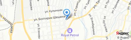 Parad на карте Алматы