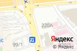 Схема проезда до компании ЕАБР, Евразийский Банк Развития в Алматы