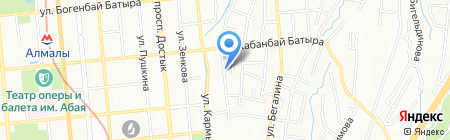 American Wheels на карте Алматы