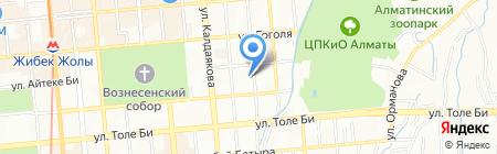 Миро на карте Алматы