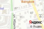 Схема проезда до компании First Kazakhstan Ceiling Company в Алматы
