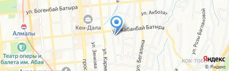 Атлас Копко Центральная Азия на карте Алматы