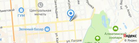 Print House Nord West DWL на карте Алматы