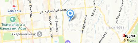 HOSOO INTERNATIONAL CIS на карте Алматы