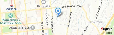 Shaanxi.kz на карте Алматы