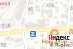 Схема проезда до компании Агаш в Алматы