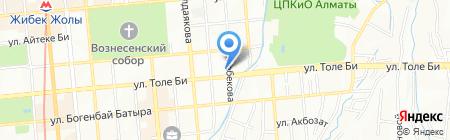 АЗС Helios на карте Алматы