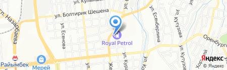 CopyLineAlmaty на карте Алматы