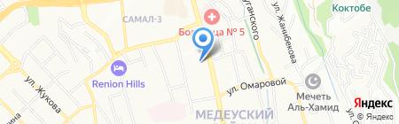 Pava на карте Алматы