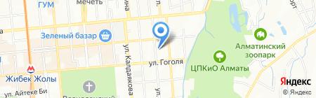 Art Progress на карте Алматы