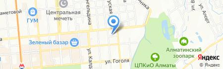 Ремонтная компания на карте Алматы