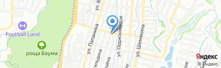 На Кожедуба на карте Алматы