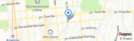 Церковь Христиан Адвентистов Седьмого дня на карте Алматы