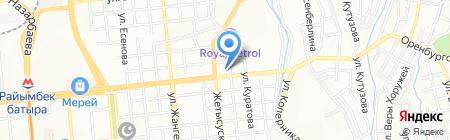 Бит-Сулейман на карте Алматы