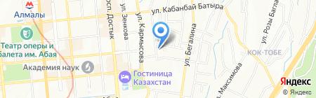 Chasik Kindergarten на карте Алматы