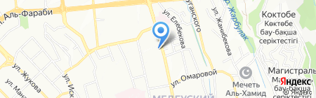 Istikbal на карте Алматы