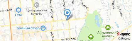 BAG на карте Алматы