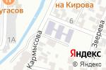 Схема проезда до компании Ясли-сад №109 в Алматы