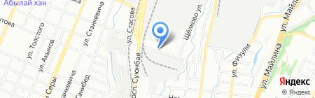Мечтатель на карте Алматы
