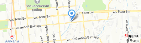 Шалом на карте Алматы