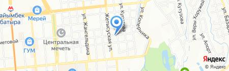 Для Вас на карте Алматы