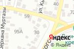 Схема проезда до компании Sheriff-Security в Алматы