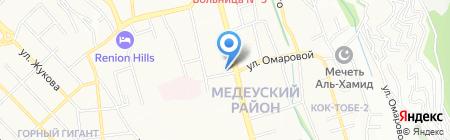 NICOLA'S на карте Алматы