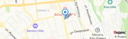 Pomogayka.Asia на карте Алматы