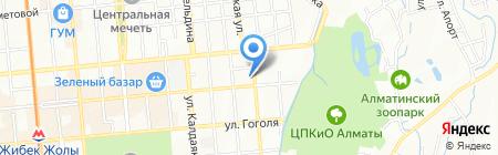 Ален ОРК на карте Алматы
