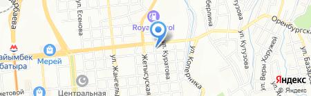 Обзор на карте Алматы