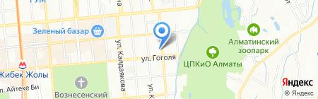 Sanchez на карте Алматы