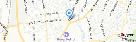 Sheriff-Security на карте Алматы