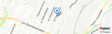 Мир на карте Алматы