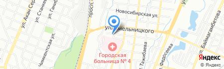 Елена центр красоты на карте Алматы