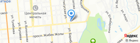 Столовая на ул. Макатаева на карте Алматы