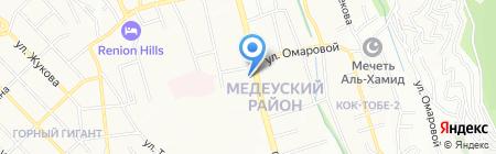 Мастерская по ремонту одежды на проспекте Достык на карте Алматы