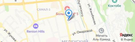 Eurasian Pipe-Line на карте Алматы