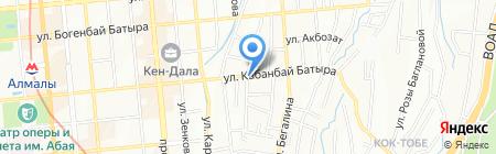 Аква-Мир на карте Алматы