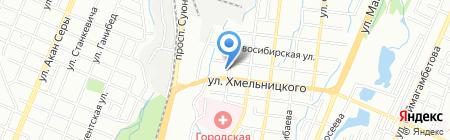 Японские автозапчасти на карте Алматы