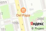 Схема проезда до компании 24 kz в Алматы